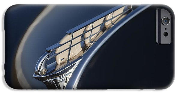 Plymouth iPhone Cases - Vintage Plymouth Hood Ornament iPhone Case by Carol Leigh