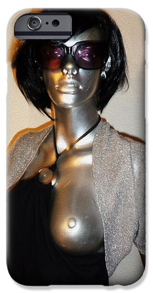Celebrities Sculptures iPhone Cases - Virgin Up For Grabs Fortuna Life Like Woman Sculpture Only 15000 U S D Worldwide Delivery  iPhone Case by Sir Josef Putsche