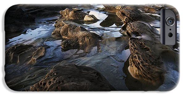 Surreal Landscape Photographs iPhone Cases - Visions Of Nature 4 iPhone Case by Bob Christopher