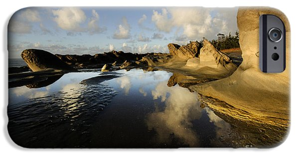 Surreal Landscape Photographs iPhone Cases - Visions Of Nature 6 iPhone Case by Bob Christopher