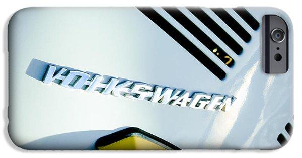Automotive iPhone Cases - Volkswagen VW Emblem iPhone Case by Jill Reger