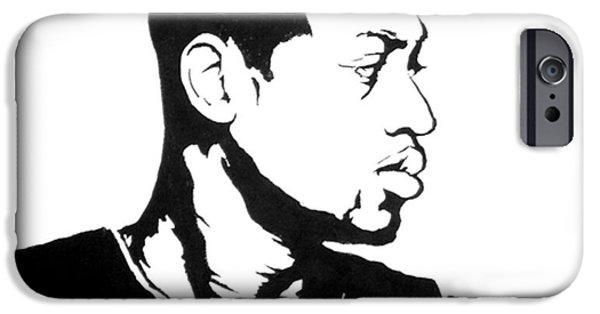 Dwyane Wade iPhone Cases - Wade iPhone Case by Tamir Barkan