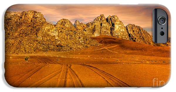 Jordan iPhone Cases - Wadi Rum Jordan iPhone Case by Dan Yeger