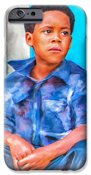 Hattiesburg iPhone Cases - Waiting iPhone Case by Brenda Bryant