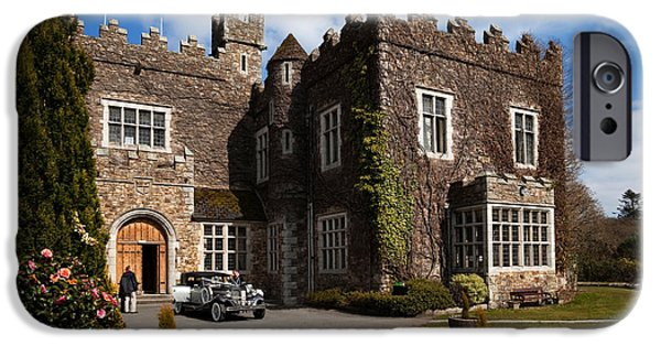 Enterprise Photographs iPhone Cases - Waterford Castle , County Waterford iPhone Case by Panoramic Images