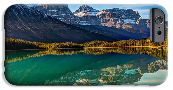 Autumn iPhone Cases - Waterfowl Lake iPhone Case by Brandon Smith