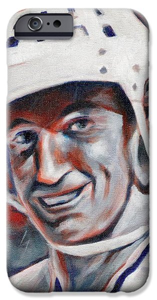 Wayne Gretzky iPhone Cases - Waynes World iPhone Case by Paul Smutylo