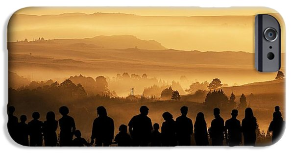 Gaia Digital iPhone Cases - We . . . The Stewards Of The Land iPhone Case by iina  Van Lawick