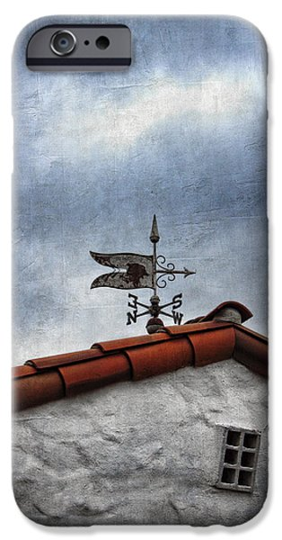 Weathered Weathervane iPhone Case by Carol Leigh