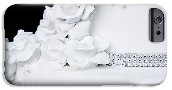 Cake iPhone Cases - Wedding cake iPhone Case by Tom Gowanlock