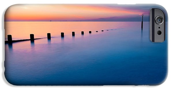 Submerged iPhone Cases - Welsh Sunset iPhone Case by Adrian Evans