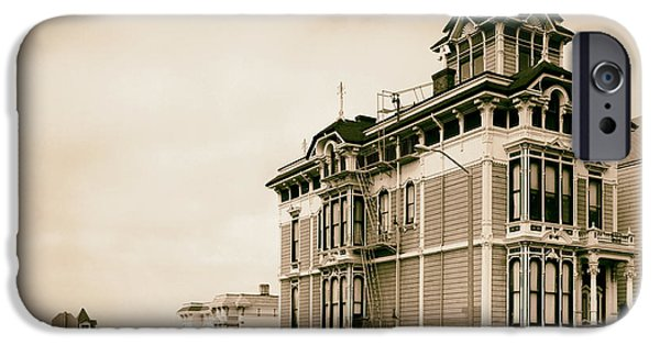 1981 iPhone Cases - Westerfield House in San Francisco 1981 iPhone Case by Mountain Dreams