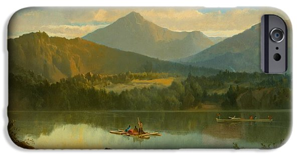 Beautiful iPhone Cases - Western Landscape iPhone Case by John Mix Stanley