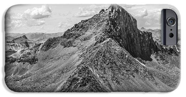 Asymmetrical iPhone Cases - Wetterhorn Peak iPhone Case by Aaron Spong