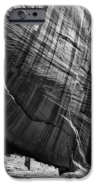 White House iPhone Cases - White House Ruin iPhone Case by Thomas R Fletcher