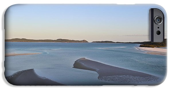 Whitsunday iPhone Cases - Whitsunday Island iPhone Case by Debbie Cundy
