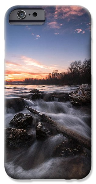 Wild river iPhone Case by Davorin Mance