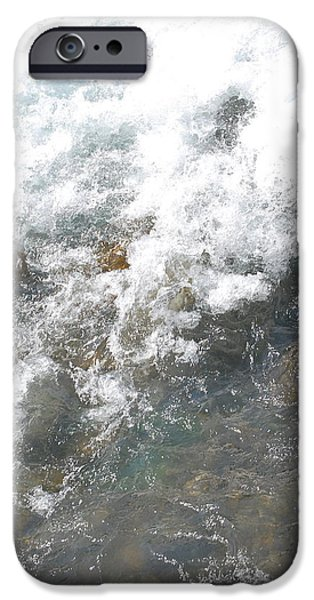 River iPhone Cases - Wild Water iPhone Case by Gina Dsgn