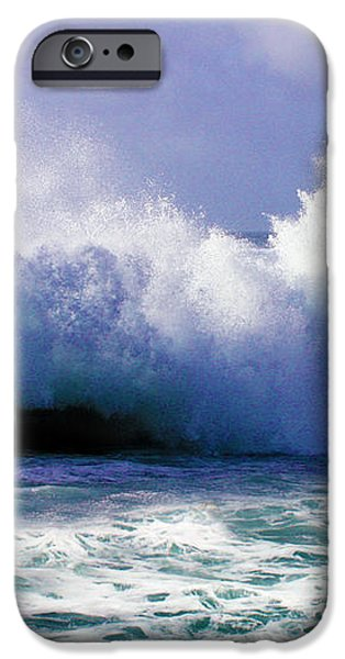Wild Waves in Cornwall iPhone Case by Terri  Waters
