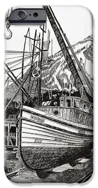 Will fish again another day iPhone Case by Jack Pumphrey