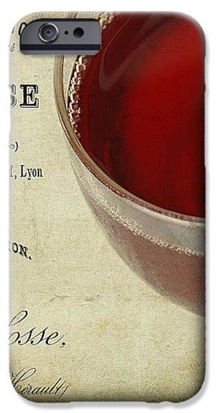 Wine iPhone Case by Darren Fisher