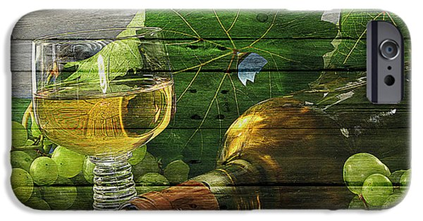 Basket iPhone Cases - Wine iPhone Case by Joe Hamilton