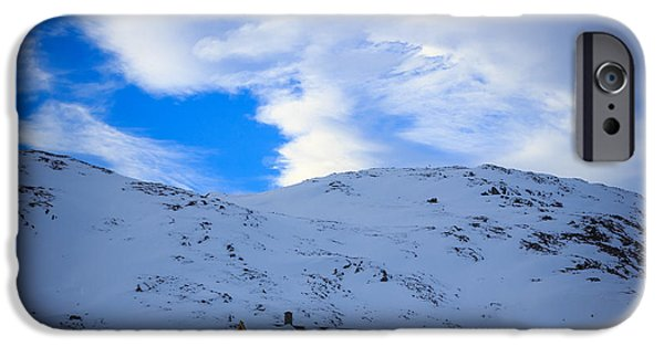 Norway iPhone Cases - Winter Living iPhone Case by Andreas Samuelsson