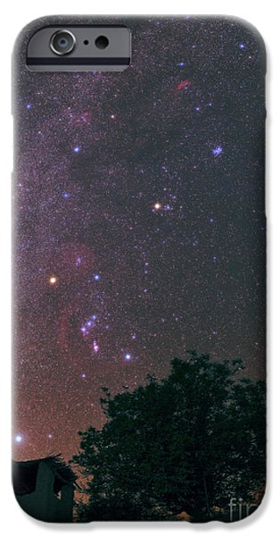 Constellations iPhone Cases - Winter Milky Way iPhone Case by Babak Tafreshi