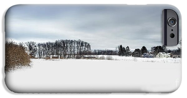Beautiful Scenery iPhone Cases - Winter Scenic iPhone Case by HD Connelly