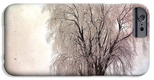 Recently Sold -  - Cathedral Rock iPhone Cases - Wisconsin Winter 3 iPhone Case by Gregg Jabs