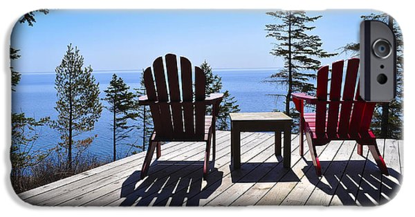 Best Sellers -  - Cabin Window iPhone Cases - Wish You Were Here iPhone Case by Matthew Blum