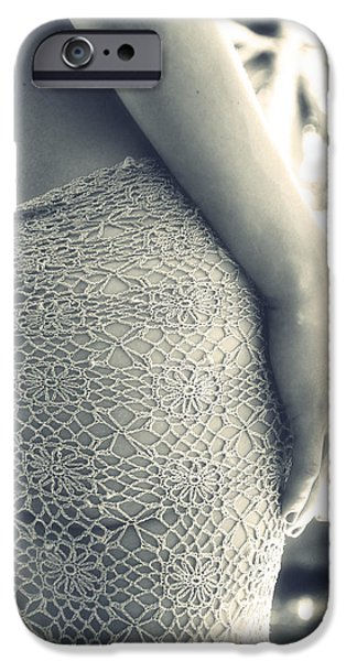 woman iPhone Case by Stylianos Kleanthous