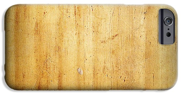 Flooring iPhone Cases - Wood texture iPhone Case by Les Cunliffe
