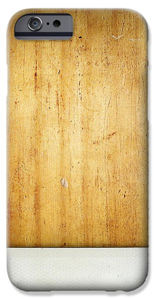 Wood texture iPhone Case by Les Cunliffe