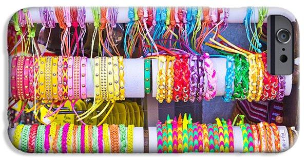 Abundance iPhone Cases - Wristbands iPhone Case by Tom Gowanlock