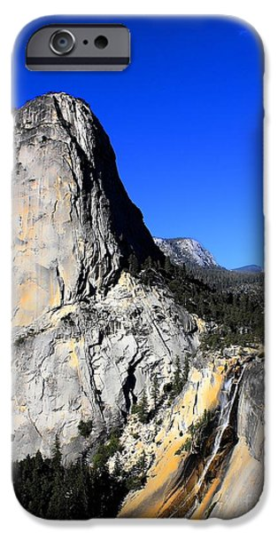 444 iPhone Cases - Yosemite Halfdome iPhone Case by RJ Aguilar