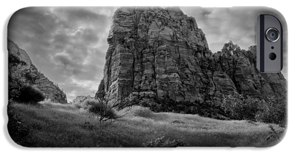 Zion Park iPhone Cases - Zion iPhone Case by Alexey Stiop