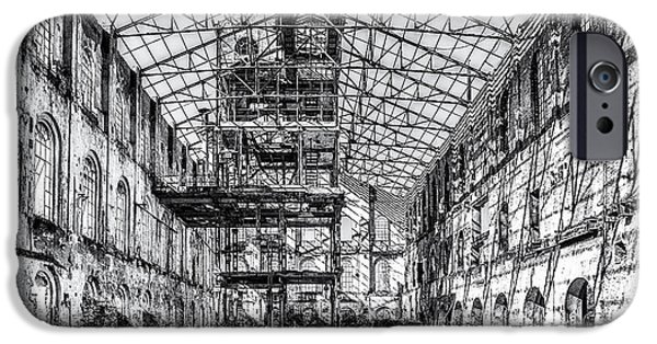 Ruin iPhone Cases - Abandoned Sugar Mill iPhone Case by Traven Milovich