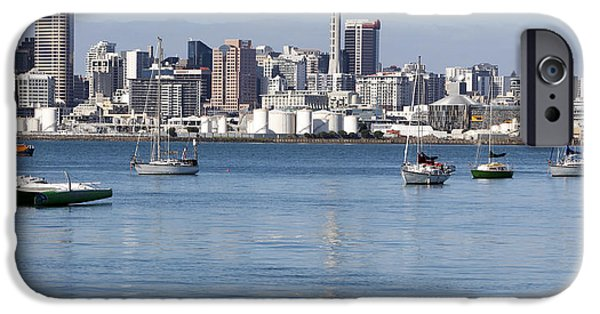 Building iPhone Cases - Auckland iPhone Case by Les Cunliffe