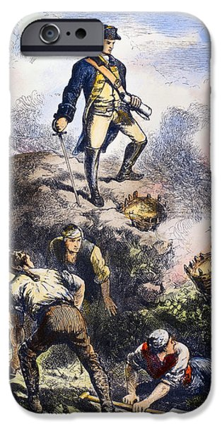 Prescott iPhone Cases - Battle Of Bunker Hill, 1775 iPhone Case by Granger