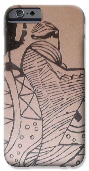 Pottery Ceramics iPhone Cases - Bikira Maria  iPhone Case by Gloria Ssali