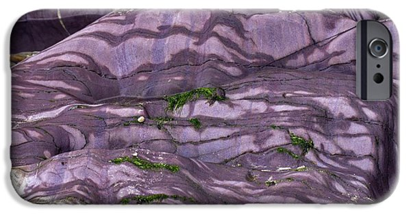 Slate Pattern iPhone Cases - Devonian Slates iPhone Case by Dr Keith Wheeler