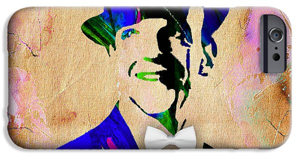 Dance iPhone Cases - Fred Astaire Collection iPhone Case by Marvin Blaine