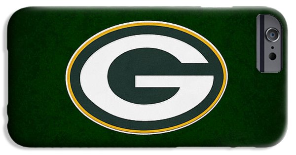 Bay Photographs iPhone Cases - Green Bay Packers iPhone Case by Joe Hamilton