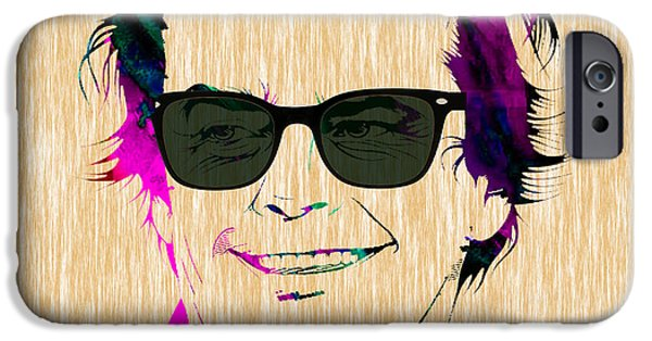 Collector iPhone Cases - Jack Nicholson Collection iPhone Case by Marvin Blaine