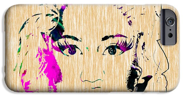 Nicki Minaj iPhone Cases - Nicki Minaj Diamond Earring Collection iPhone Case by Marvin Blaine