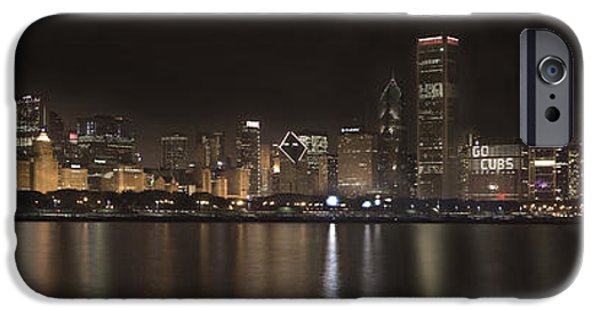 Sears Tower iPhone Cases - Chicago Cubs   iPhone Case by Patrick  Warneka