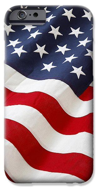 Freedom iPhone Cases - Usa iPhone Case by Les Cunliffe