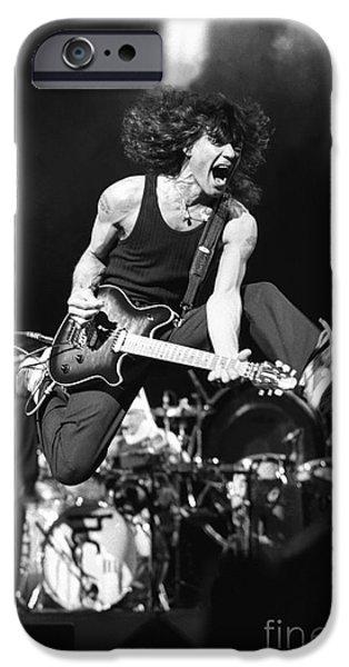 Van Halen iPhone Cases - Van Halen - Eddie Van Halen iPhone Case by Front Row  Photographs