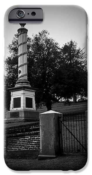 Cemetary iPhone Cases - 101414-110 iPhone Case by Mike Davis - Micks Pix Photos